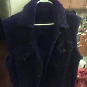 Other - Blue Men's Sherling Vest